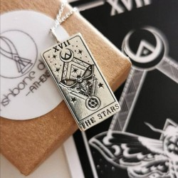 The Star Tarot Card Necklace
