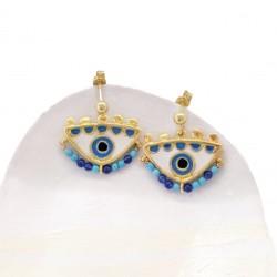 Magician's blue Small Earrings