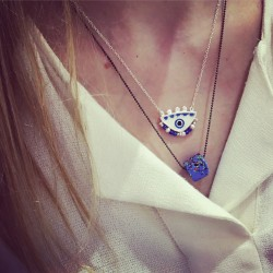 Magician's Blue Eye (small) Necklace