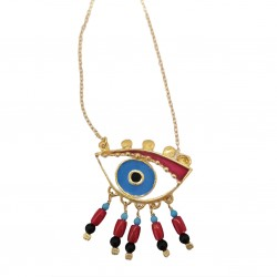 Magician's Red Eye (big) Necklace
