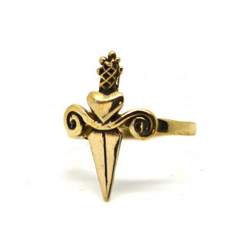 Small Dagger Δαχτυλίδι Ορειχάλκινο