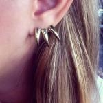 Horn Σκουλαρίκια