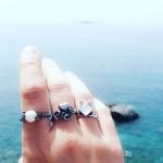 Palantir Δαχτυλίδι ορειχάλκινο
