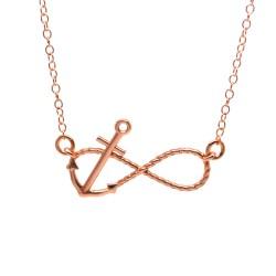 Κολιέ infinity anchor