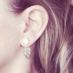 Moonchild ear Jacket ασημένιο