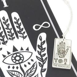 The Magician Tarot Card Necklace