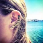 Pheonix Ear Cuff Ασημένιο