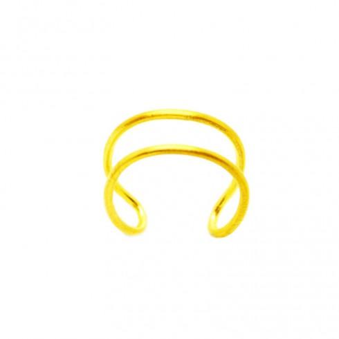 Double wire Δαχτυλίδι